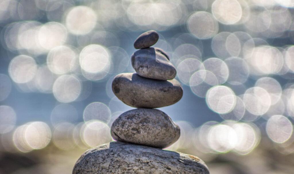 Es ist wichtig, dass wir im Gleichgewicht sind